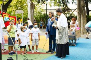 """Inaugurazione parco giochi """"Creuza de ma"""""""