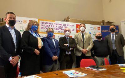 21 ottobre 2020 – Il Rotary e la Lega Calcio B e Lega Pro per End Polio Now