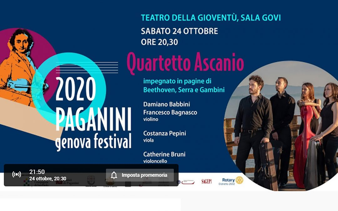 End Polio Now al Paganini Genova Festival