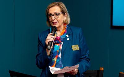 Il PDG Ines Guatelli è stata nominato Assistente del Coordinatore Regionale della Rotary Foundation