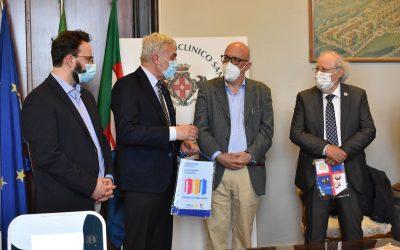 Il Rotary per la rianimazione covid del Policlinico San Martino di Genova