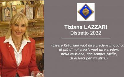 Il PDG Tiziana Lazzari è un nuovo Grande Donatore Italiano