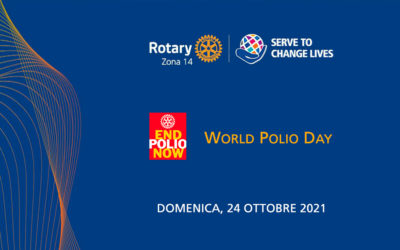 World Polio Day – 24 Ottobre 2021 – Save the date
